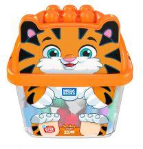 Mega Bloks Tiger Bausteine-Box