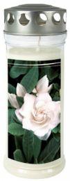 "Gedenk-Kerze (groß) ""Gardenia"""
