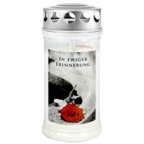 """Gedenk-Kerze """"In ewiger Erinnerung"""""""