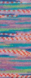 Gründl Wolle Hot Socks Lazise 4-fach Nr.05 Flieder/Rose