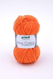 Gründl Wolle King Cotton Nr.05 Orange