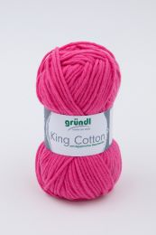 Gründl Wolle King Cotton Nr.07 Pink