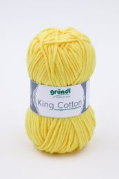 Gründl Wolle King Cotton Nr.10 Zitrone