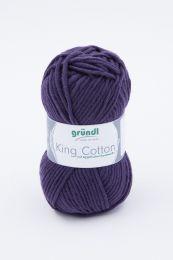 Gründl Wolle King Cotton Nr.13 Aubergine