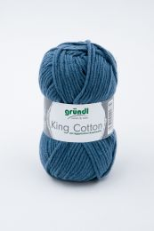 Gründl Wolle King Cotton Nr.16 Jeansblau
