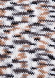 Gründl Wolle Lisa Premium Color Nr.08 Schwarz-Grau-Weiß