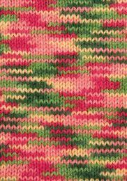 Gründl Wolle Lisa Premium Color Nr.13 Moosgrün-Erdbeer