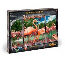 Schipper Malen nach Zahlen Flamingos