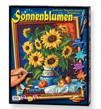Schipper Malen nach Zahlen Stilleben mit Sonnenblumen