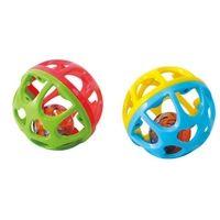 BABY RASSELBALL MIT GLOCKE im Ball 25cm