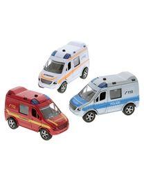 Einsatzfahrzeug Feuerwehr/Rettung/Polizei Metall 11cm