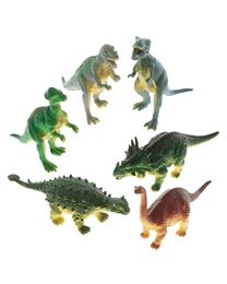 Dinosaurier 15cm 6 Stück in Blisterpackung