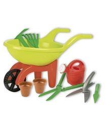 Green Garden Schubkarre mit Pflanzzubehör