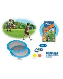 Wurfspiel & Frisbee 2in1