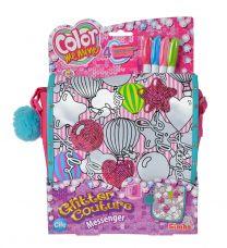 Color Me Mine Pink Messenger Bag