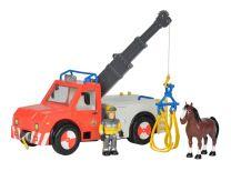 Feuerwehrmann Sam Phoenix Rettungsfahrzeug mit Figur & Pferd