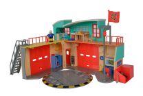 Feuerwehrmann Sam Neue Feuerwehrstation mit Steele Figur