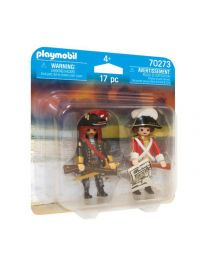 Playmobi Duo Packs Piratenkapitän und Rotrock