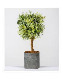 Deko-Buchsbaum H35cm Getopft