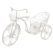 "Deko-Rad ""Provence"" (Weiß) 155cm"