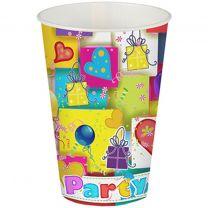 Pappbecher Party (10 Stück)