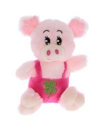 Plüsch Schwein Mary mit Latzhose 15cm