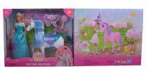 Lucy Prinzessin mit Pferd 29cm
