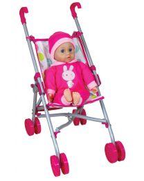 Lissi Puppenbuggy mit Soft Baby 36cm