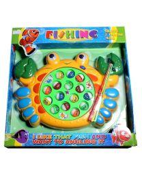 Fischfangspiel mit Musik