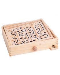 Holz Labyrinth