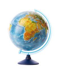Welt Globus mit Relief 3D Oberfläche