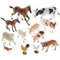 Bauernhoftiere (12 Stück)