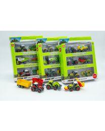 Traktoren Set 17cm 3er PKG