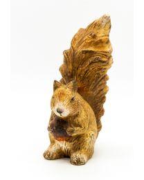 Deko-Eichhörnchen 21,5x15x9cm