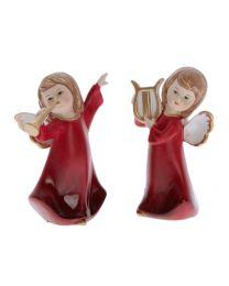 Engel kniend mit Teelichthalter