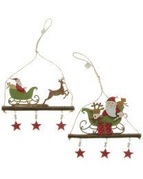 Hänger Schlitten/Weihnachtsmann