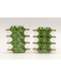 Holzklammern 8er Kleeblatt 2,9x0,6x2,8cm