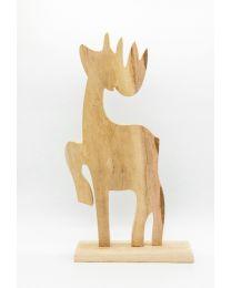 Deko-Elch aus Holz 61x32x3cm