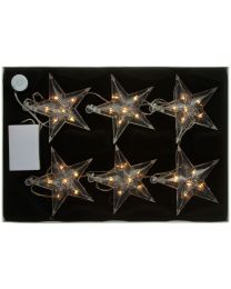 LED-Sternenkette mit 6 Sternen