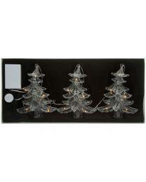 LED-Christbaumkette mit 3 Bäumen