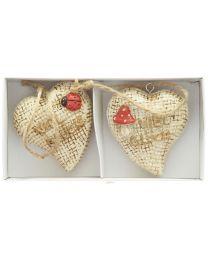 Glücksbringer Herz 2er Packung