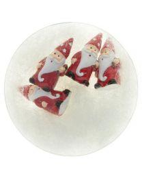 Weihnachtsmannfiguren 4er Packung